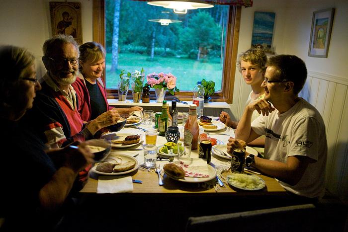 Gemenskap kring bordet